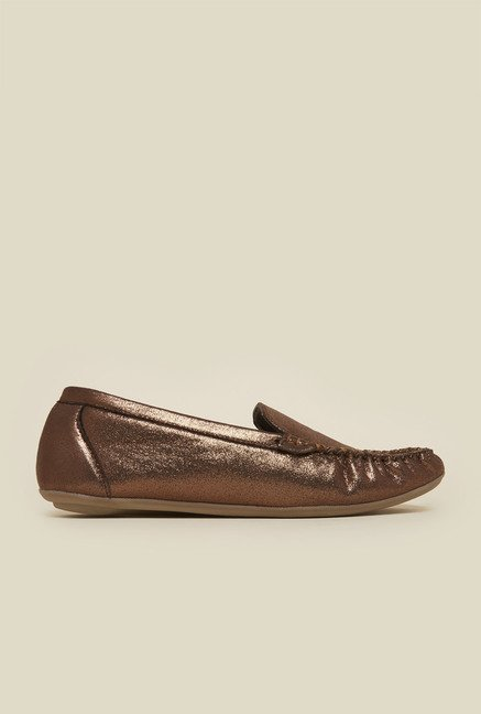 Metro Bronze Casual Loafers