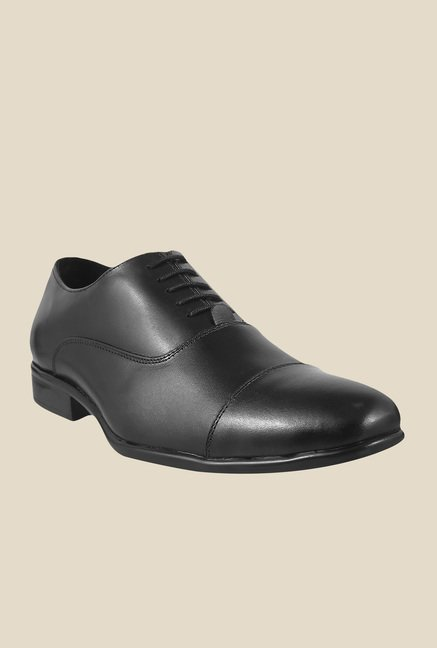 Metro Black Oxford Shoes