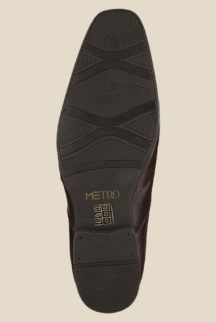 Metro Brown Derby Shoes