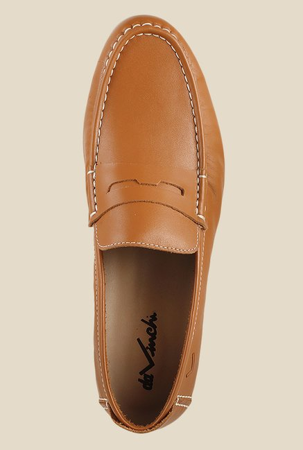 Da Vinchi by Metro Tan Loafers