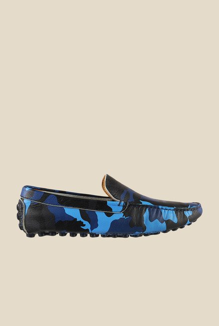 Da Vinchi by Metro Blue & Black Loafers