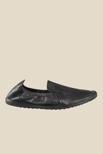 Metro Black Espadrille Shoes