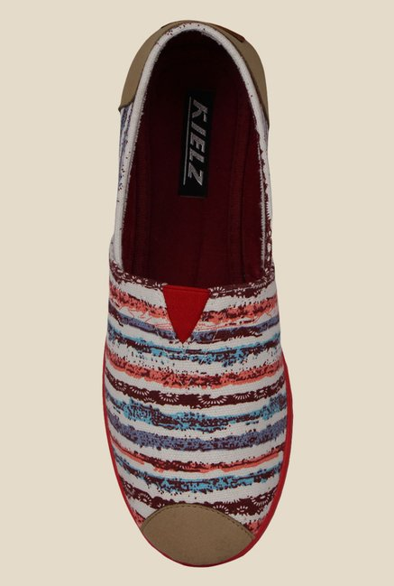 Kielz Multicoloured Espadrille Shoes