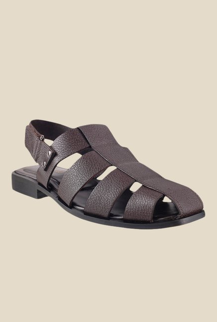 Metro Brown Back Strap Sandals