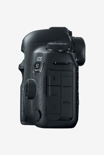 Canon EOS 5D Mark IV EF 24-70 IS USM DSLR Camera (Black)