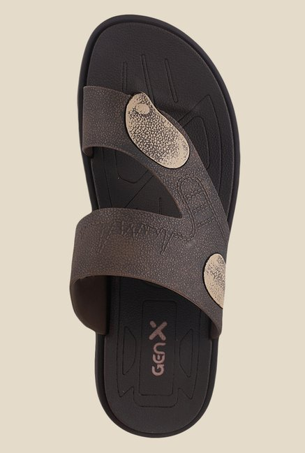Gen X by Metro Brown Casual Sandals