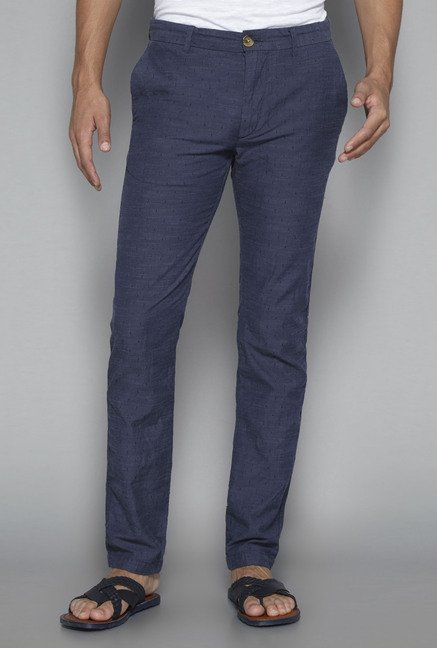 ETA by Westside Navy Slim Fit Chinos