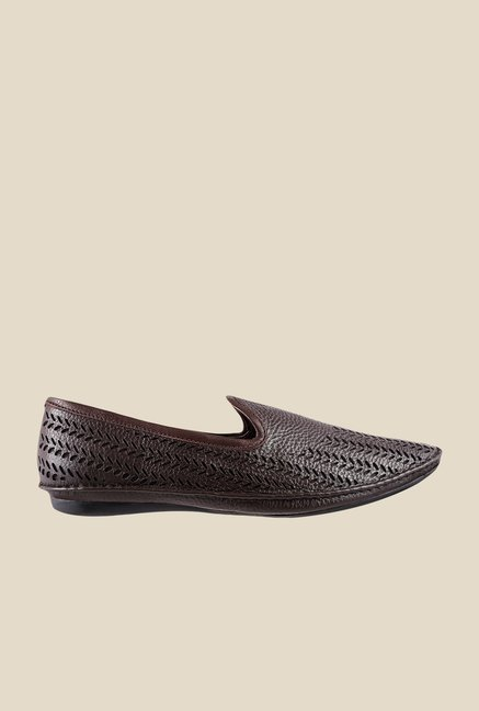 Metro Brown Casual Loafers