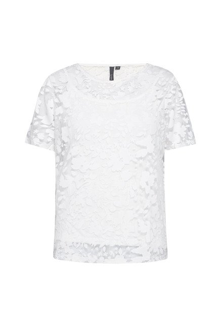 LOV by Westside White Siyona Top