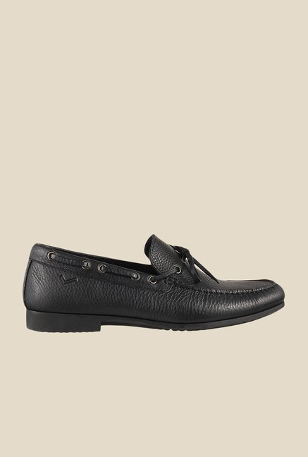 Da Vinchi by Metro Black Boat Shoes