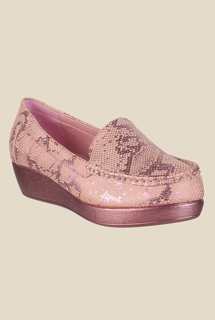 Metro Pink Casual Loafers