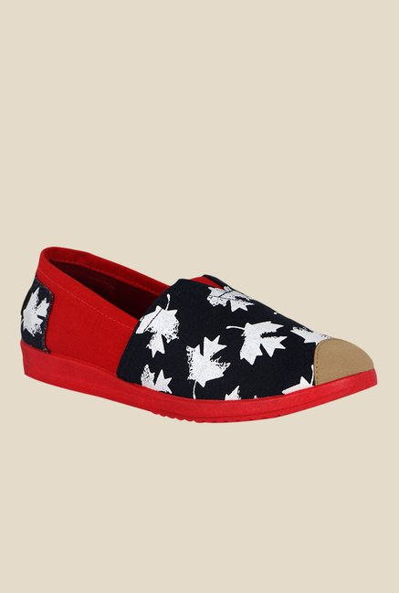 Kielz Black & Red Espadrilles