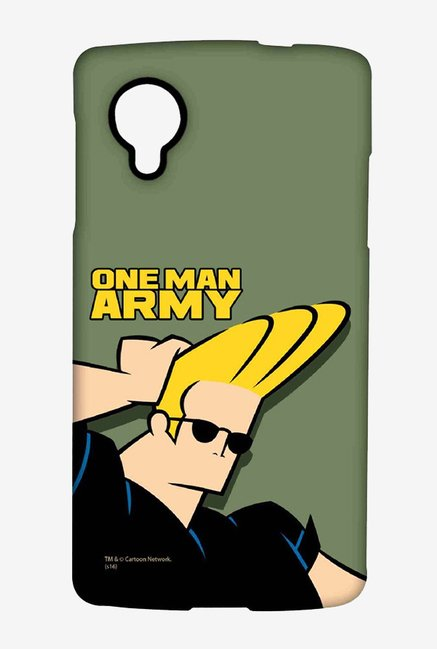 Johnny Bravo One Man Army Case for LG Nexus 5