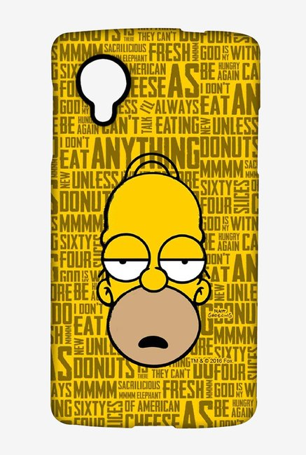 Simpsons Homer Says Case for LG Nexus 5