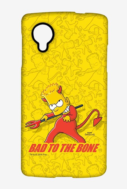 Simpsons Bad To The Bone Case for LG Nexus 5