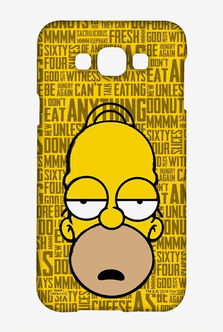 Simpsons Homer Says Case for Samsung Galaxy A8