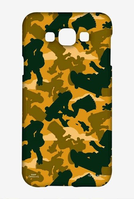 Simpsons Camo Bart Case for Samsung Galaxy A8