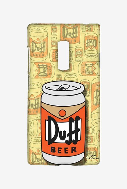 Simpsons Duff Beer Case for Oneplus Two