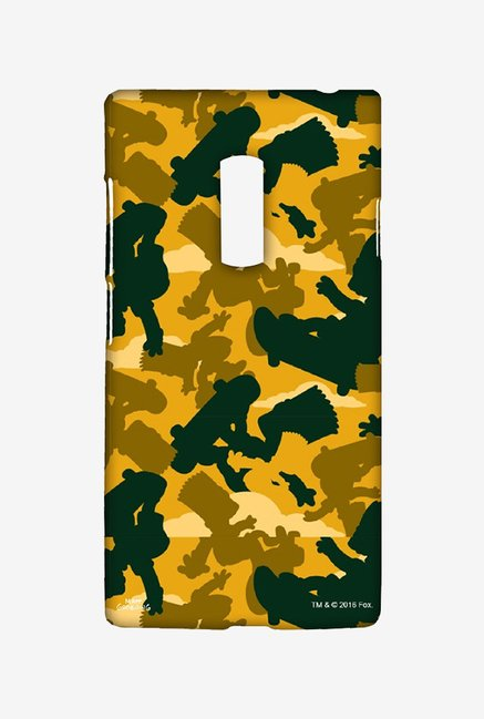 Simpsons Camo Bart Case for Oneplus Two