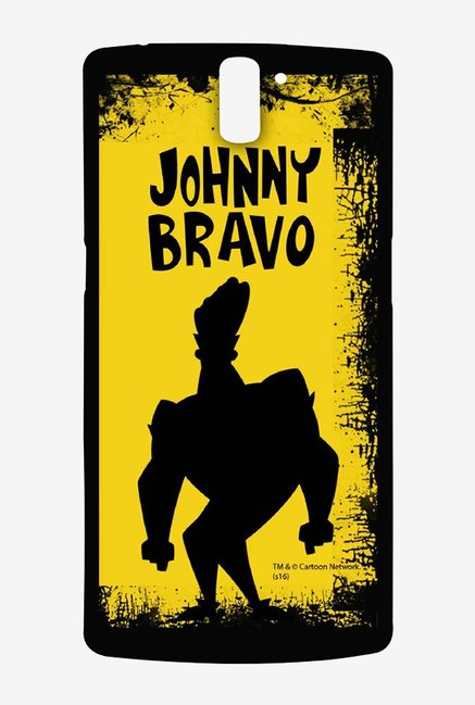 Johnny Bravo Yellow Grunge Case for Oneplus One