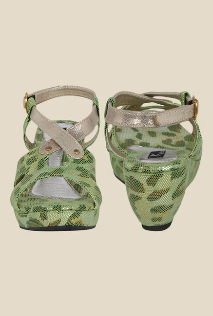 Kielz Green Back Strap Wedges