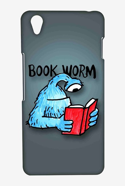 Kritzels Book Worm Case for Oneplus X