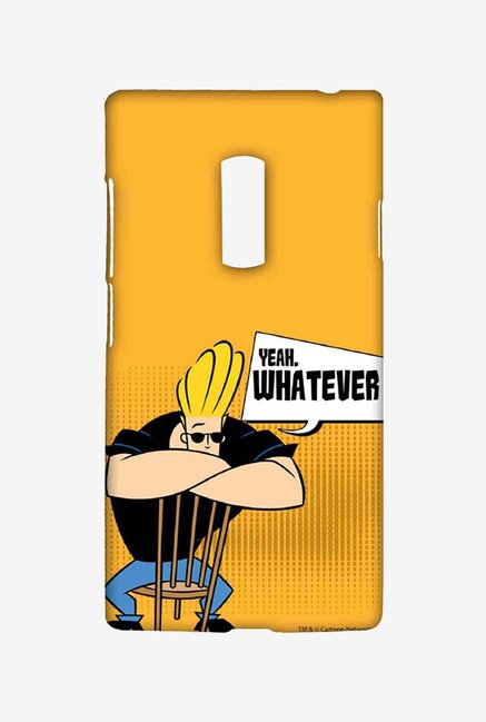 Johnny Bravo Yeah Whatever Case for Oneplus Two