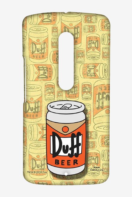Simpsons Duff Beer Case for Moto X Play