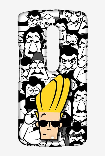 Johnny Bravo Doodle Case for Moto X Play