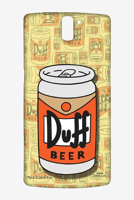Simpsons Duff Beer Case for Oneplus One