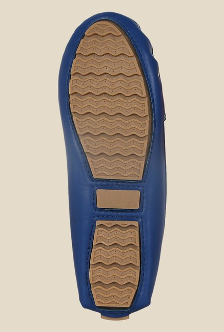 Kielz Blue Casual Loafers