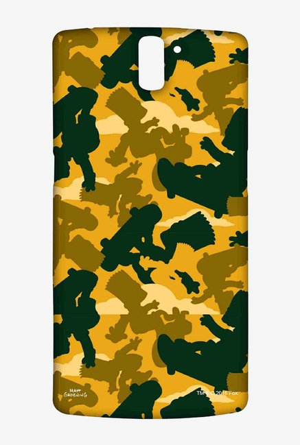 Simpsons Camo Bart Case for Oneplus One