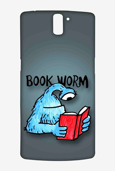 Kritzels Book Worm Case for Oneplus One