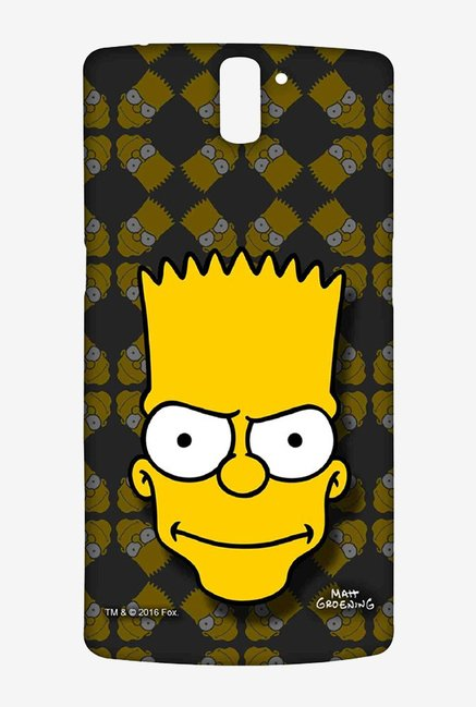 Simpsons Bartface Case for Oneplus One