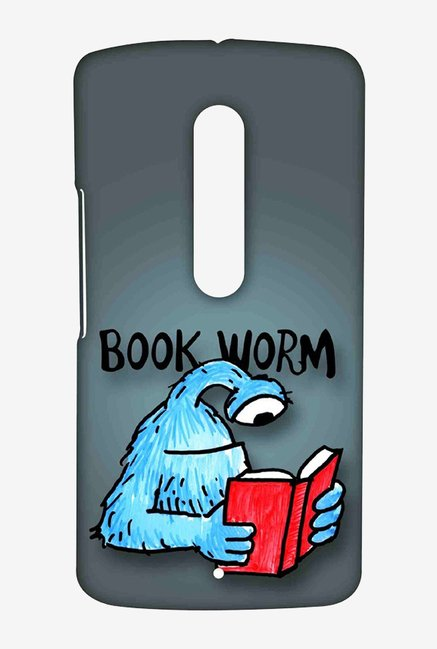 Kritzels Book Worm Case for Moto X Play