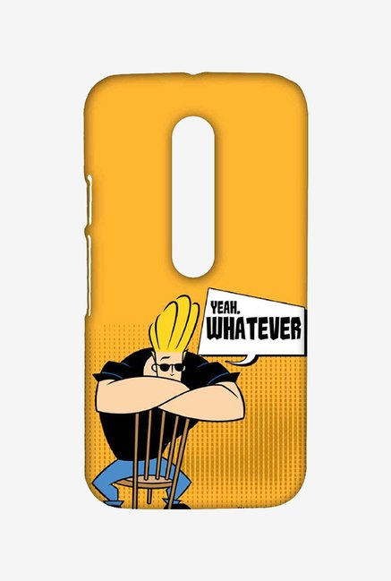 Johnny Bravo Yeah Whatever Case for Moto G3