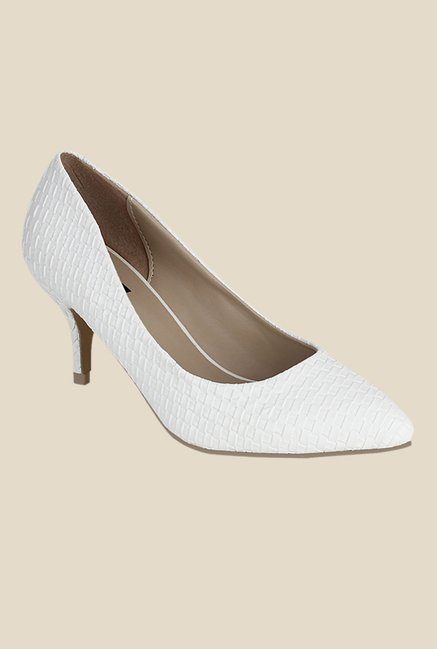 426b7831fb0f Buy Kielz White Casual Pumps For Women Online At Tata CLiQ