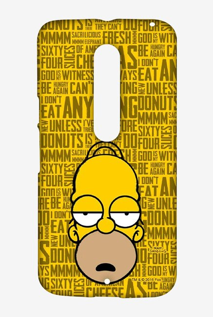 Simpsons Homer Says Case for Moto X Style