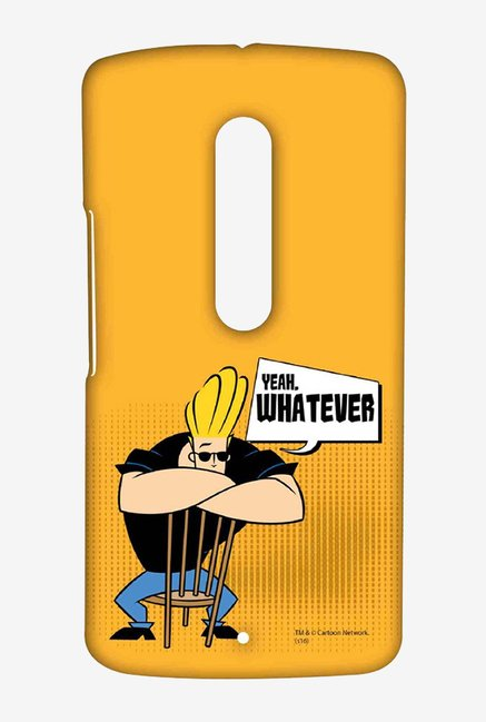 Johnny Bravo Yeah Whatever Case for Moto X Play