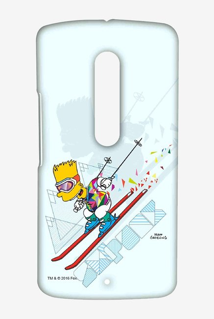 Simpsons Ski Punk Case for Moto X Play