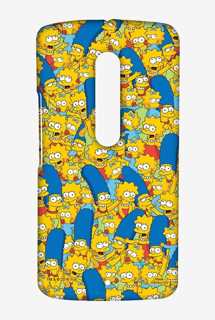 Simpsons Pattern Case for Moto X Play