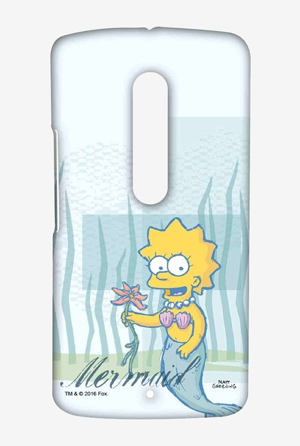 Simpsons Mermaid Case for Moto X Play