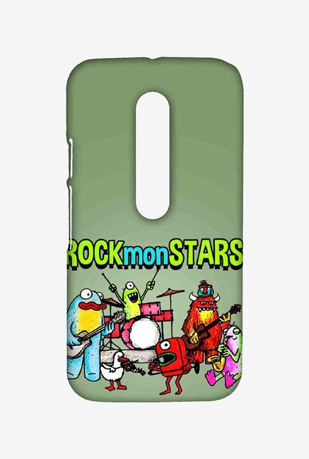 Kritzels Rockmonstars Case for Moto G Turbo