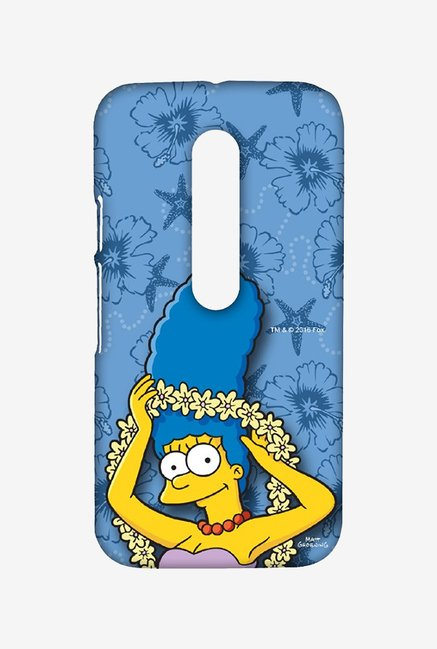 Simpsons Marge Hawaii Case for Moto G Turbo