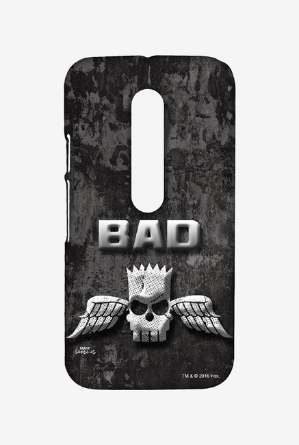 Simpsons Cracked Wall Bart Case for Moto G3