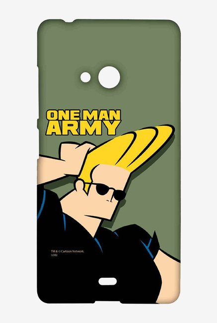 Johnny Bravo One Man Army Case for Microsoft Lumia 540