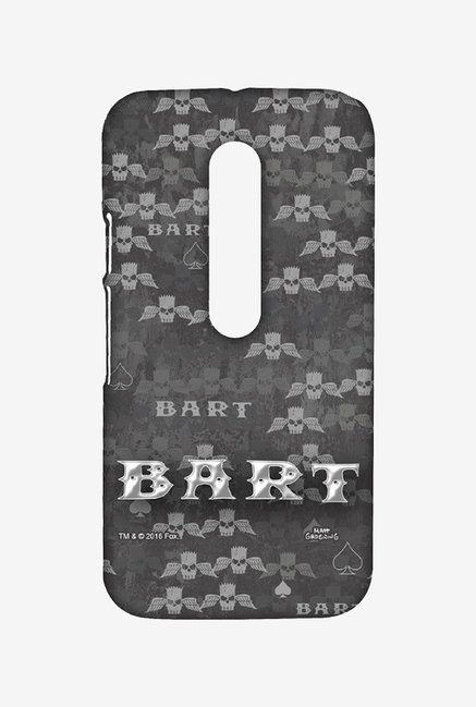 Simpsons Bart Wings Case for Moto G3