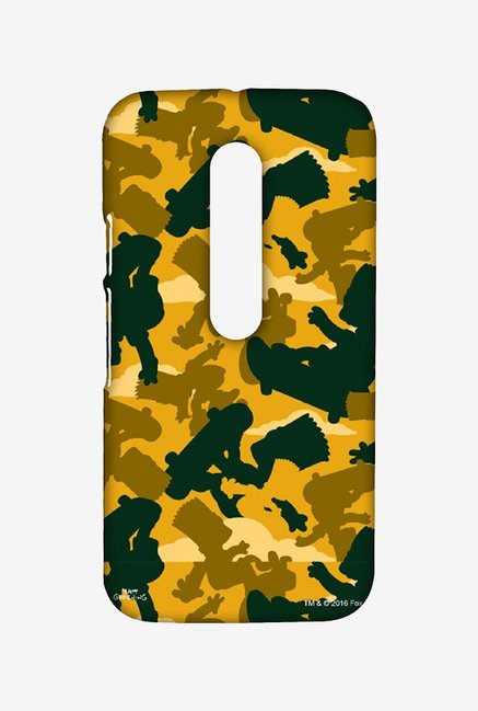 Simpsons Camo Bart Case for Moto G Turbo