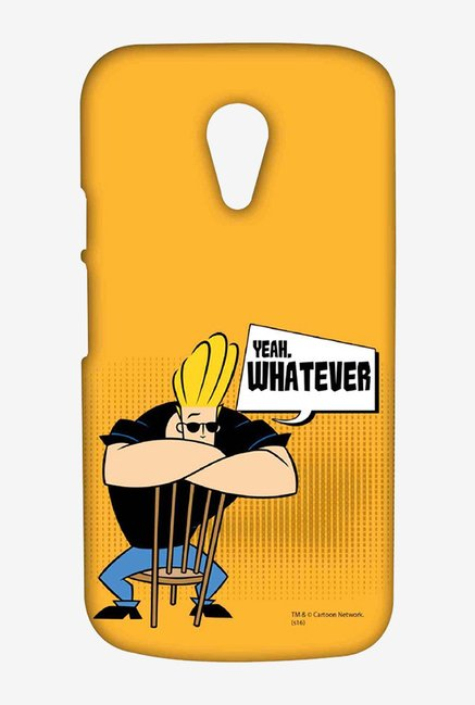 Johnny Bravo Yeah Whatever Case for Moto G2