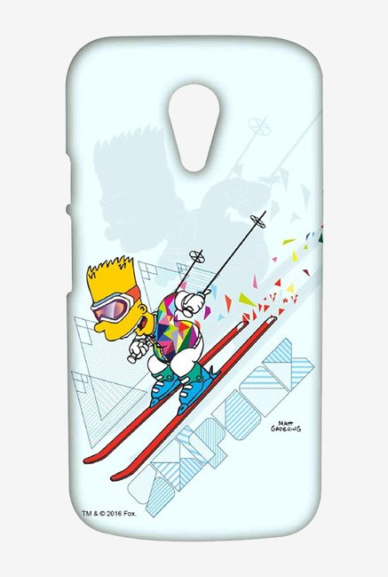 Simpsons Ski Punk Case for Moto G2